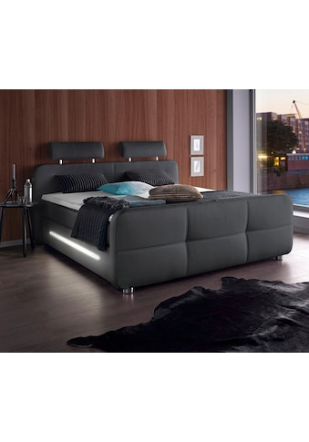Places of Style Boxspringbett, inkl. Topper und LED-Beleuchtung kaufen
