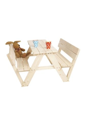 Pinolino® Kindersitzgruppe »Nicki für 4, mit Rückenlehne« kaufen