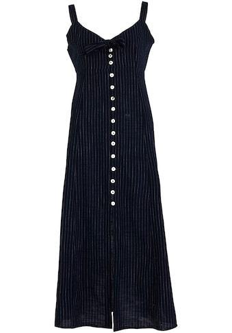 LTB Sommerkleid »NITOTE«, mit Streifen und Knopfleiste kaufen