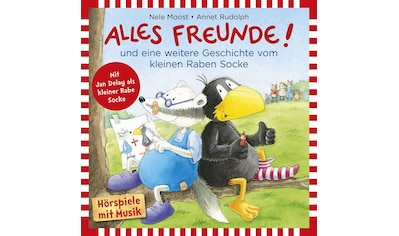 Musik-CD »Alles Freunde! / Rabe Socke« kaufen