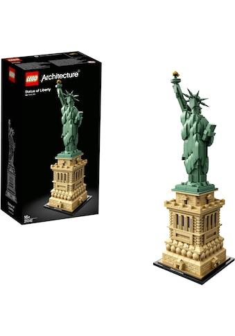 LEGO® Konstruktionsspielsteine »Freiheitsstatue (21042), LEGO® Architecture«, (1685... kaufen