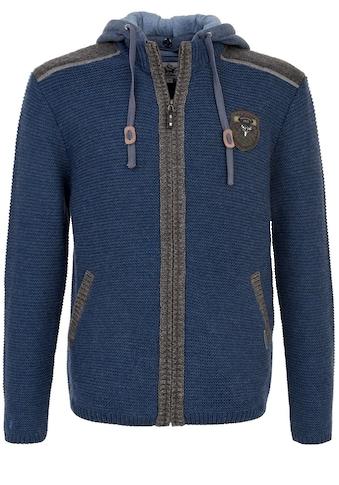 Spieth & Wensky Strickjacke Dakar 70 cm mit Sweater - Kapuze kaufen