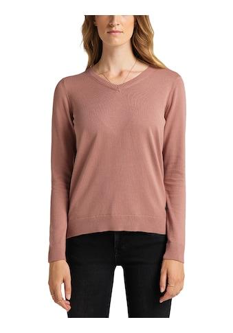 MUSTANG Sweatshirt »Carla V Basic« kaufen
