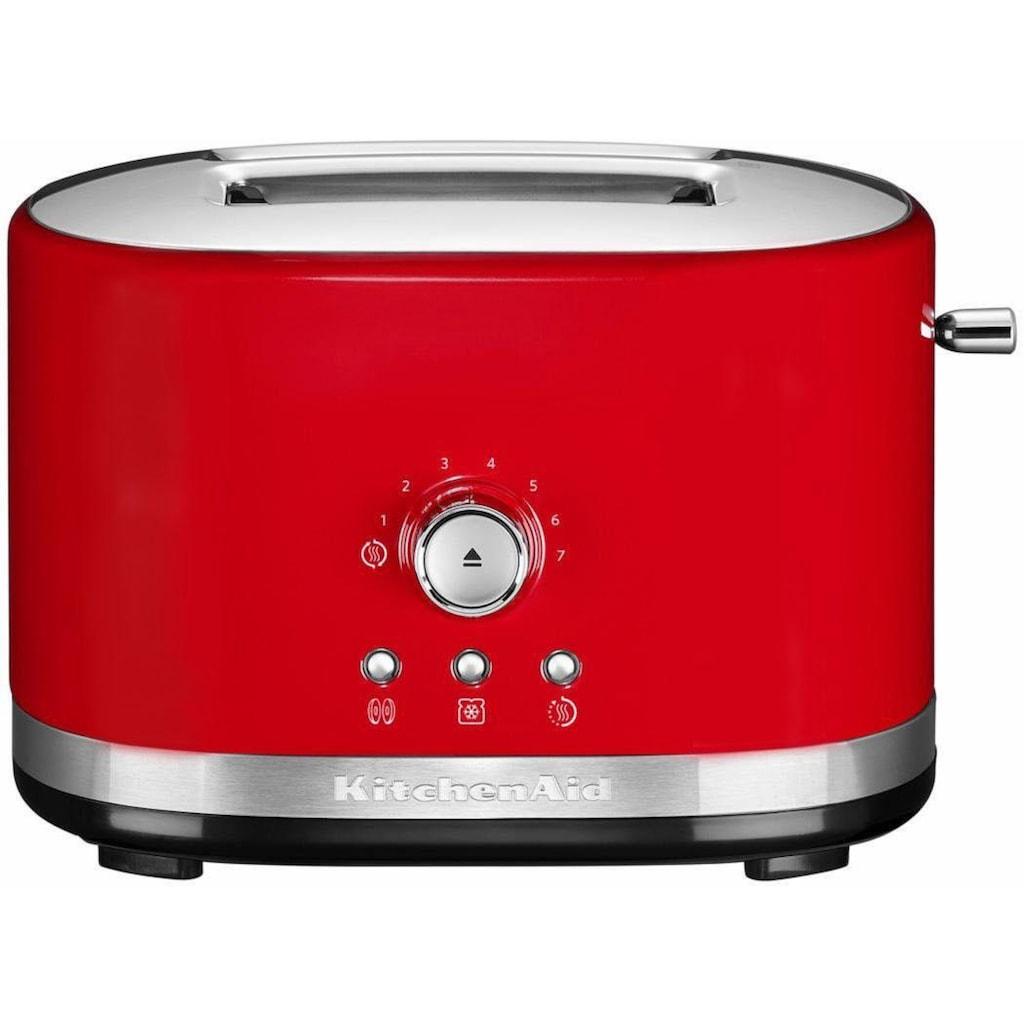 KitchenAid Toaster »5KMT2116EER«, 2 kurze Schlitze, für 2 Scheiben, 1200 W, empire rot
