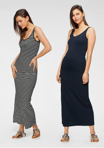 Vero Moda Maxikleid »VMNANNA SL ANCLE DRESS 2-PACK«, (2er-Pack) kaufen