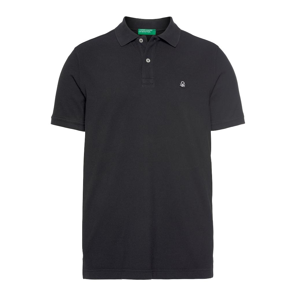 United Colors of Benetton Poloshirt, mit Logostickerei