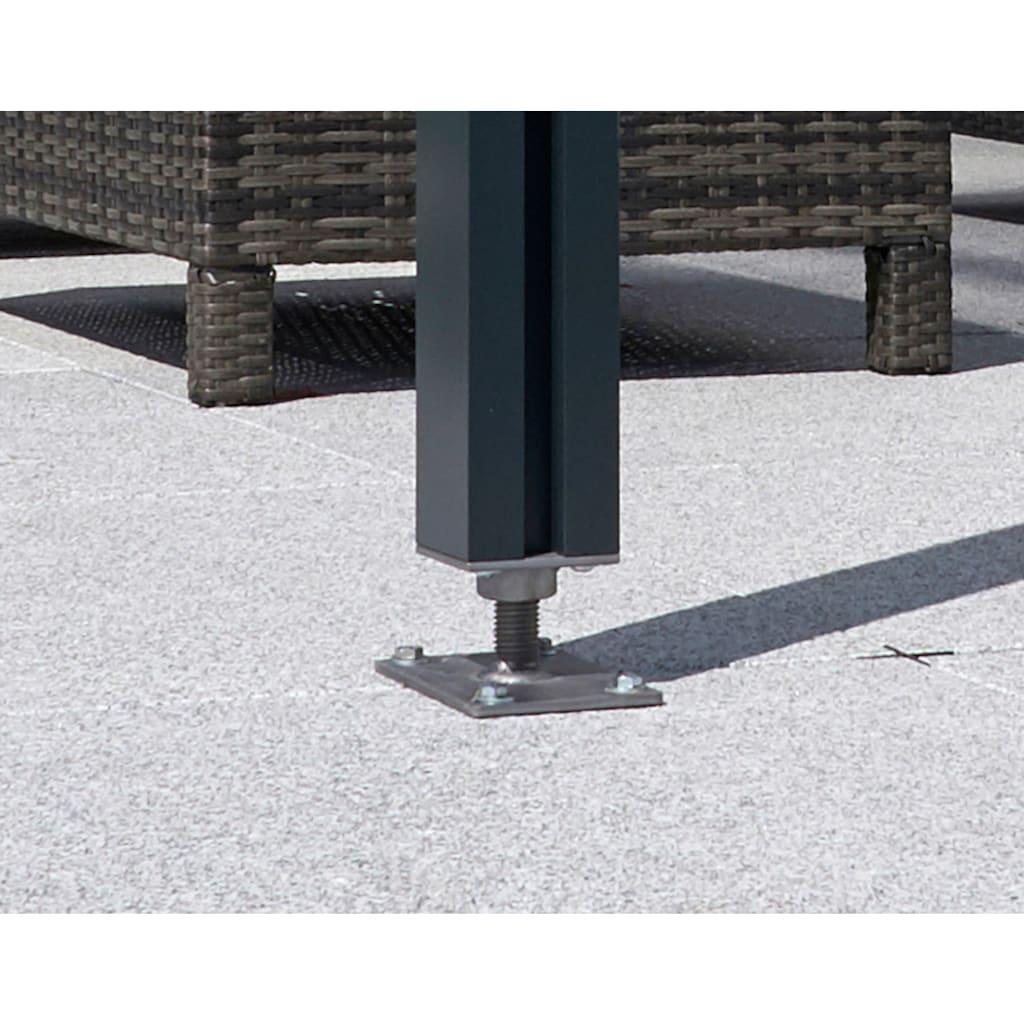 GUTTA Terrassendach »Premium«, BxT: 510x406 cm, Dach Polycarbonat klar