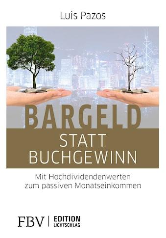 Buch »Bargeld statt Buchgewinn / Luis Pazos« kaufen