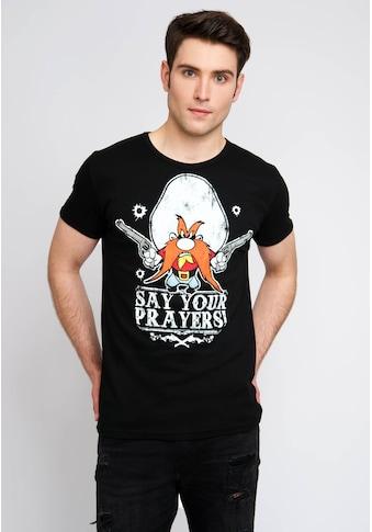 LOGOSHIRT T-Shirt mit coolem Retro-Print kaufen