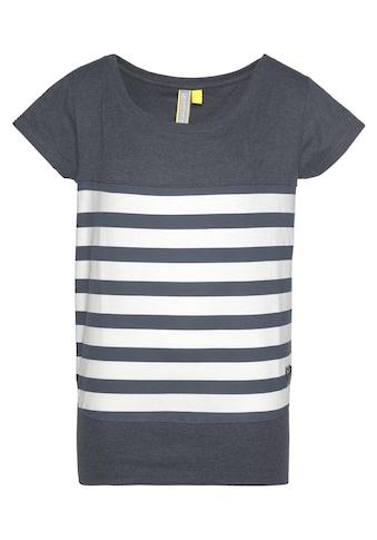 Alife & Kickin T-Shirt »CoraAK S«, modisches Kurzarm-Shirt mit Streifen kaufen
