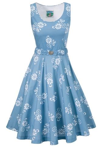 Turi Landhaus Trachtenkleid, mit floralem Muster - Made in Europe kaufen