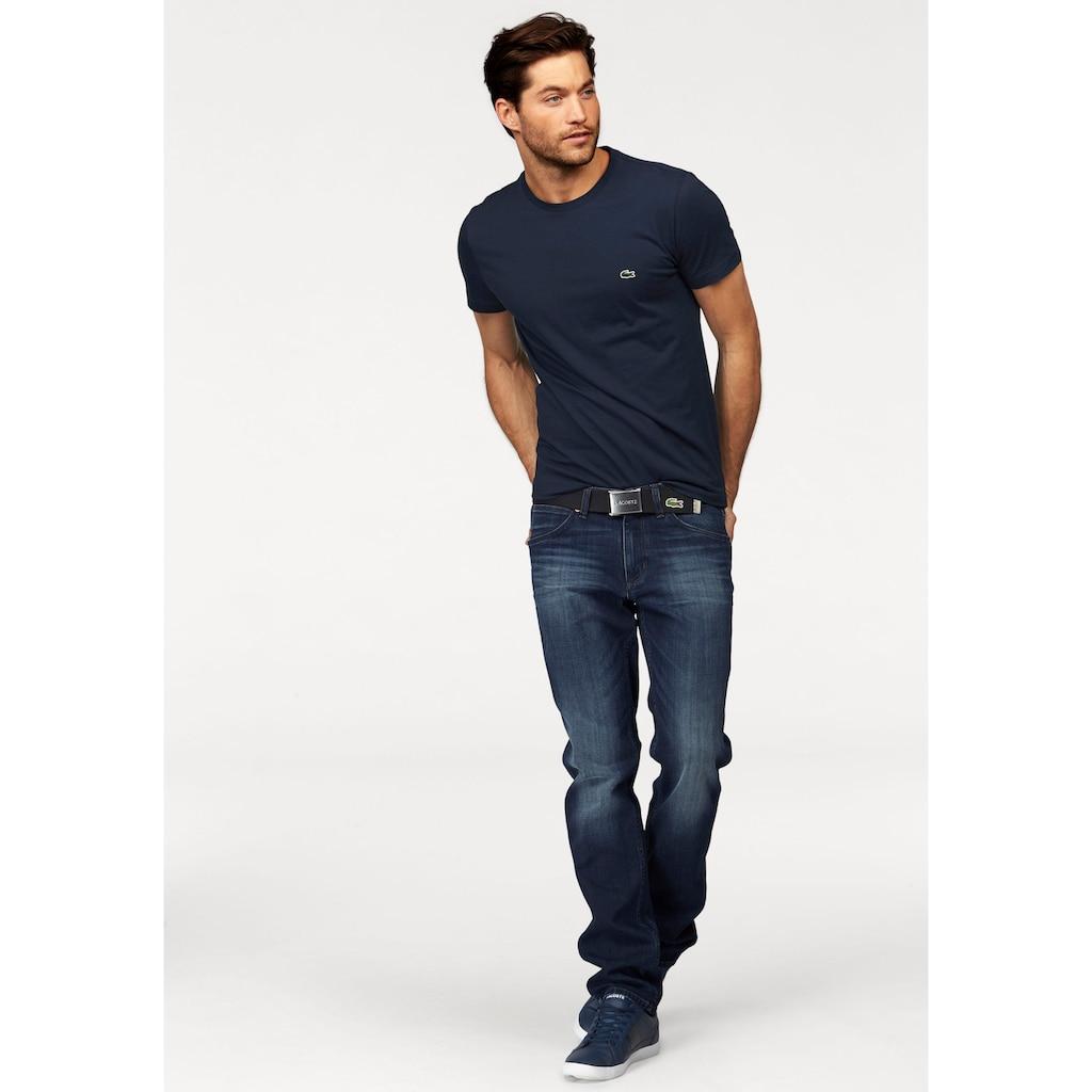 Lacoste T-Shirt, aus reiner Baumwolle