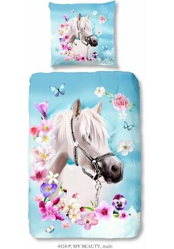 good morning Kinderbettwäsche »My beauty«, mit Pferdemotiv kaufen