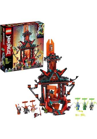 LEGO® Konstruktionsspielsteine »Tempel des Unsinns (71712), LEGO® NINJAGO®«, (810... kaufen