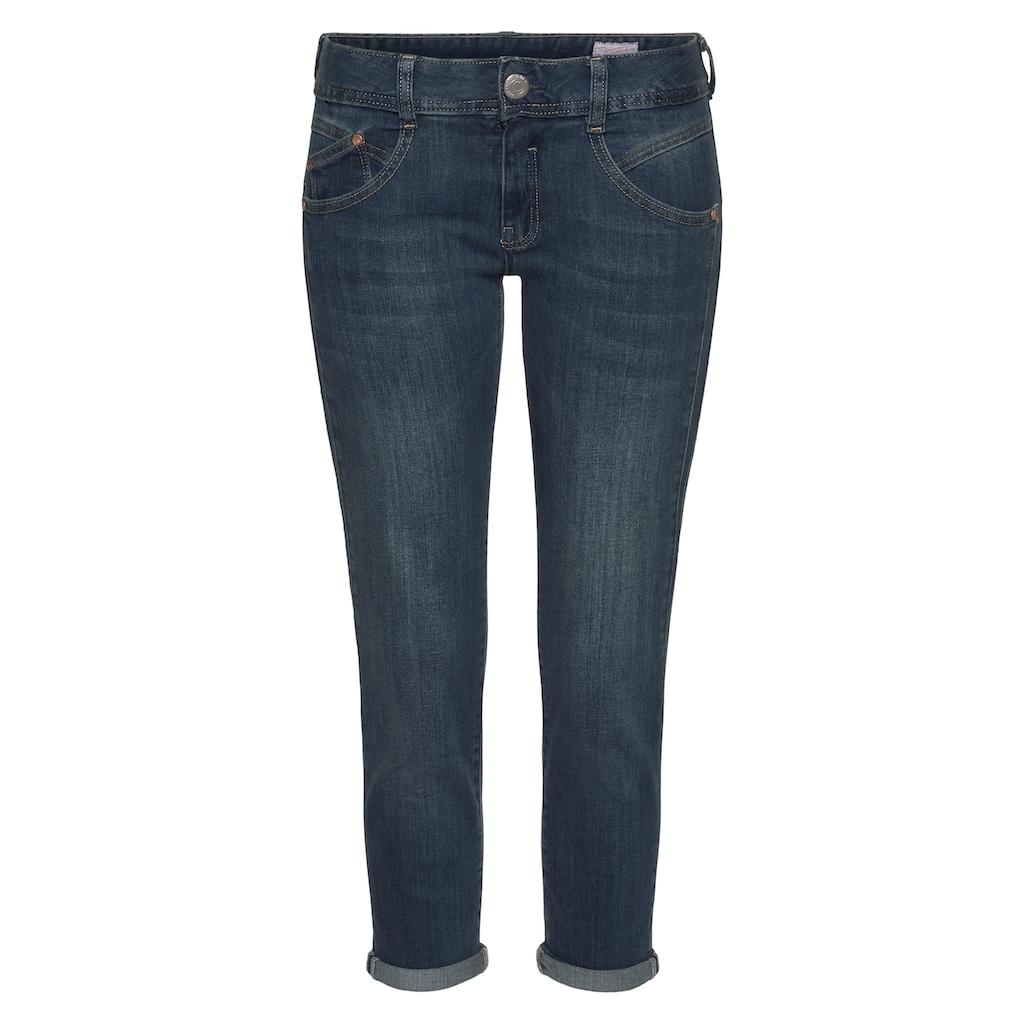 Herrlicher 7/8-Jeans »GINA CROPPED«, Schlankeffekt dank eingesetztem Keileinsatz