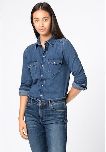 HALLHUBER Jeansbluse kaufen
