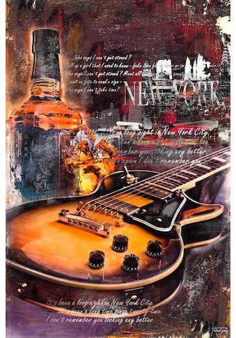 Deco - Panel »Gitarre & Whiskey« kaufen