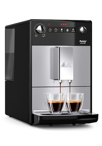 Melitta Kaffeevollautomat Purista F23/0 - 101 silber, 1,2l Tank, Kegelmahlwerk kaufen