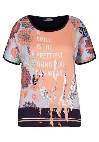 FRAPP Angesagtes T-Shirt mit Statement-Print kaufen
