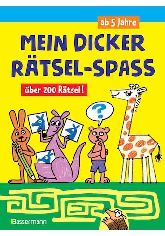 Buch »Mein dicker Rätsel-Spaß.Über 200 Rätsel / Norbert Pautner« kaufen