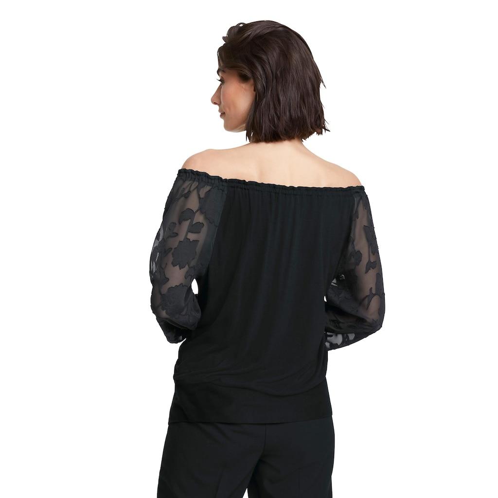 Shirt mit Carmenausschnitt