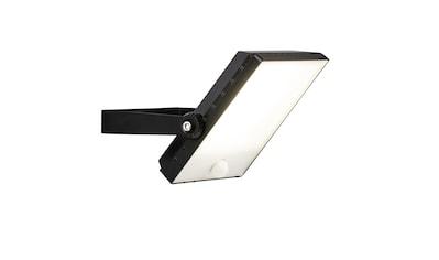 Brilliant Leuchten Dryden LED Außenwandstrahler 13cm Bewegungsmelder schwarz kaufen