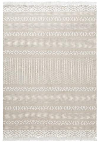 andas Teppich »Neo«, rechteckig, 3 mm Höhe, Pastell-Farben, Wohnzimmer kaufen