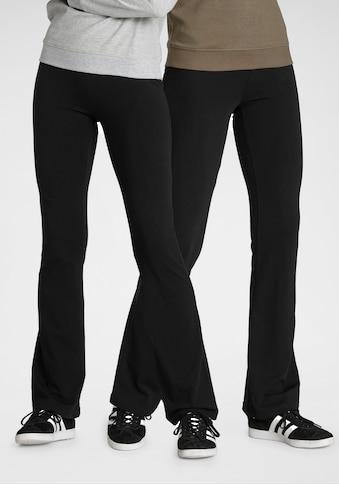 Flashlights Jazzpants, (Packung, 2er-Pack), mit leicht ausgestelltem Bein kaufen