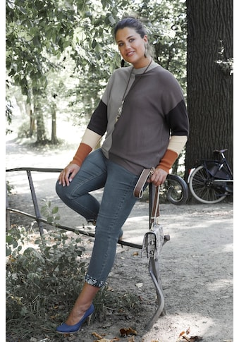 Arizona 7/8 - Jeans »Turn  -  Up mit floralem Print« kaufen