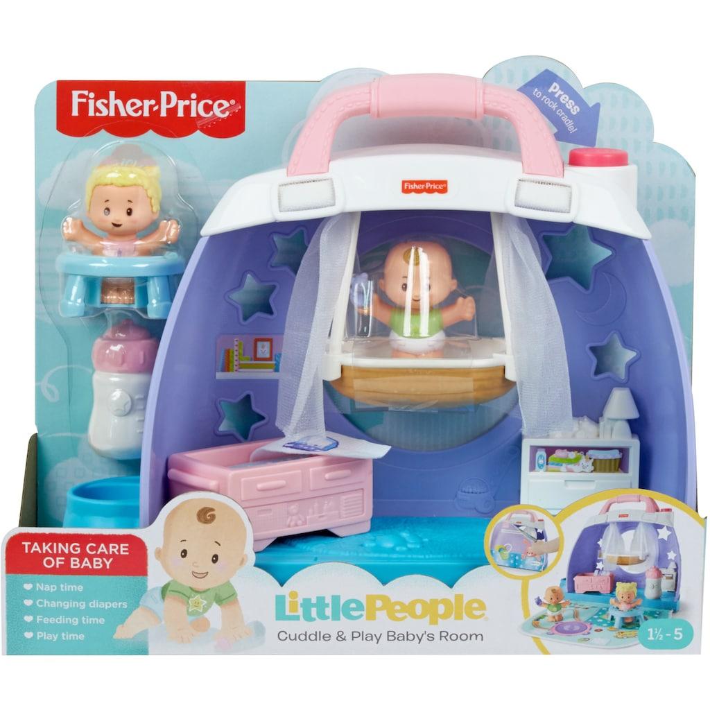 Fisher-Price® Puppenhaus »Little People - Baby Kinderzimmer«, zum Mitnehmen