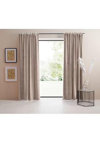 LeGer Home by Lena Gercke Vorhang »Samt Ladina« kaufen