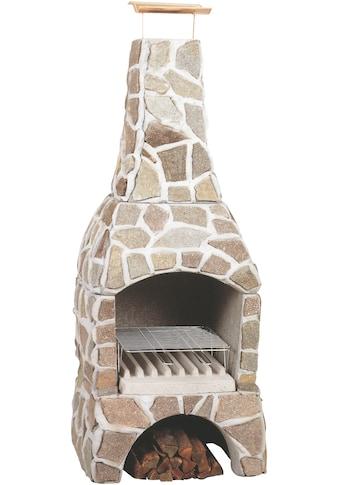 WELLFIRE Grillkamin »Landau«, BxTxH: 80x77x202 cm kaufen