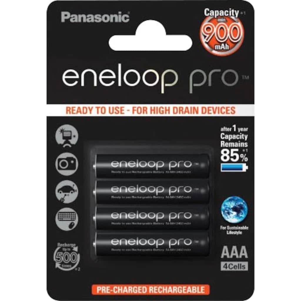 Panasonic Batterie »Eneloop Pro«, (Packung)