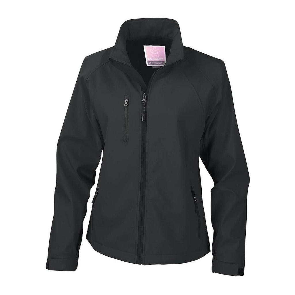 Result Softshelljacke »Damen La Femma® Softshell-Jacke, 2-lagig, atmungsaktiv, winddicht«