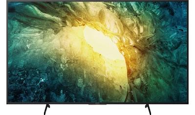 "Sony LED-Fernseher »KD-65X7055«, 164 cm/65 "", 4K Ultra HD, Smart-TV, Bravia kaufen"