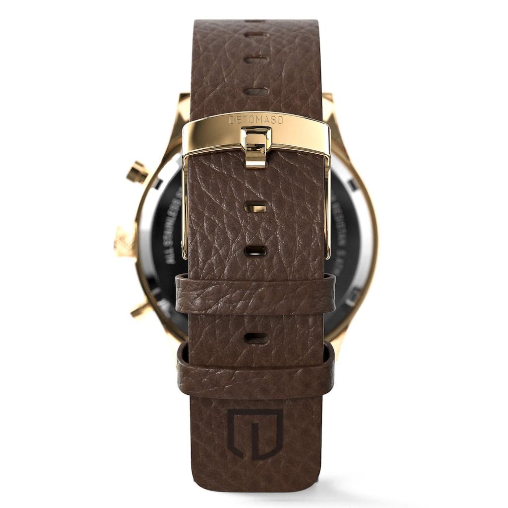 DETOMASO Chronograph »FIRENZE CHRONOGRAPH BLACK GOLD«