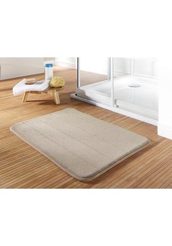 Gözze Badematte »Luxus Memory«, Höhe 15 mm, rutschhemmend beschichtet, fußbodenheizungsgeeignet, Memory Schaum kaufen