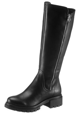 Tamaris Stiefel »Denize«, mit trendigen Zierreißverschluss kaufen