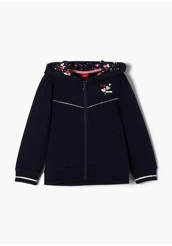 s.Oliver Sweatshirt, Zipperjacke, für Mädchen kaufen