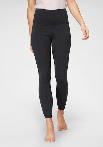 Nike Yogatights »Nike Yoga Women's 7/8 Tights«, Modische Raffung an den Beinen kaufen