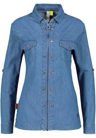 Alife & Kickin Jeansbluse »JudyAK«, modische Hemdbluse mit dekorativen Knopf-Details kaufen