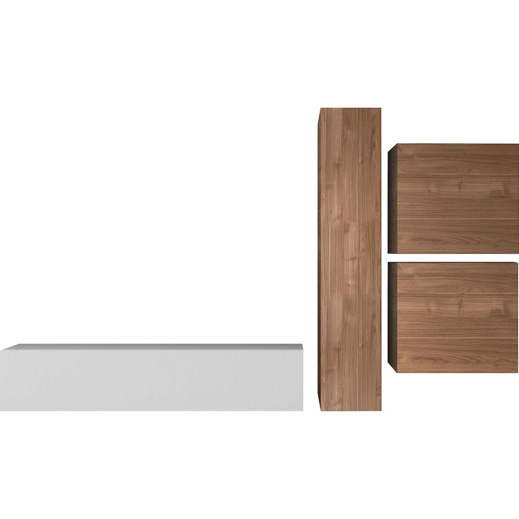 LC Wohnwand »Infinity«, (Set, 4 St.)