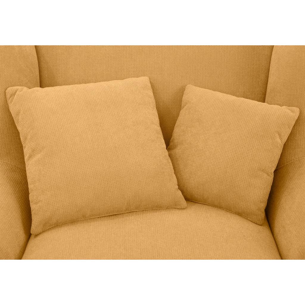Home affaire XXL-Sessel »Oase«, Mega-Sessel XXL incl. Zierkissen, Love-Seat