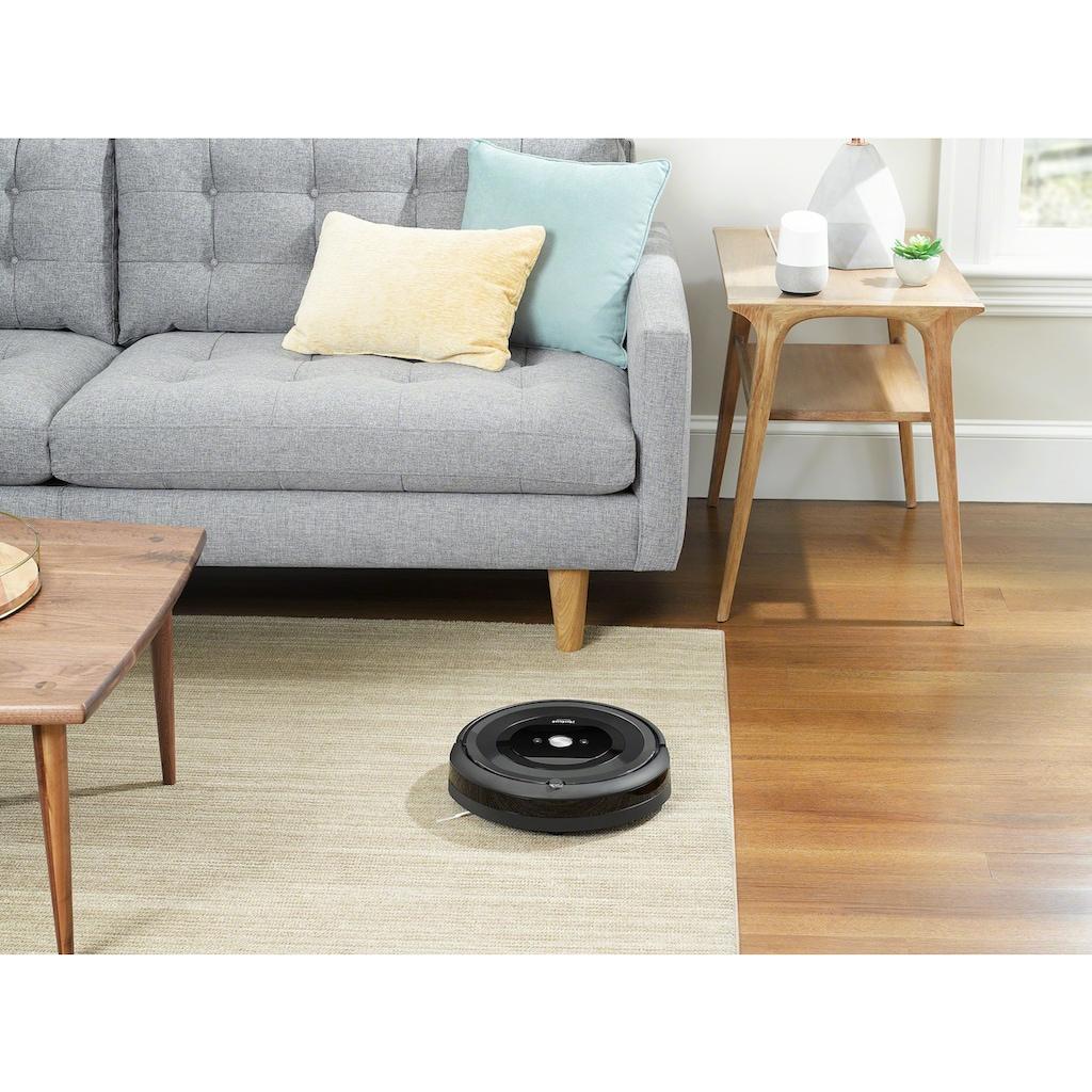 iRobot Saugroboter »Roomba e5 (e5158) WLAN-fähiger Saugroboter mit zwei Gummibürsten für alle Böden,«, Ideal für Haustiere