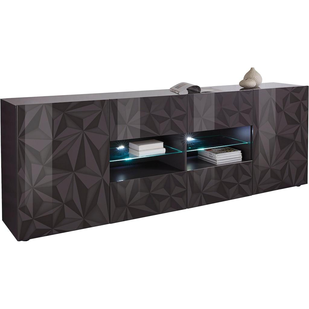 LC Sideboard »Prisma«, Breite 241 cm