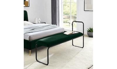 COUCH♥ Sitzbank »Privatbank«, gepolsterte Sitzfläche, auch als Garderobenbank oder Bettbank geeignet kaufen