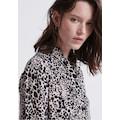 Superdry Blusenkleid »Scandi Shirt Dress«, im Animal Print & leichten Oversized Schnitt