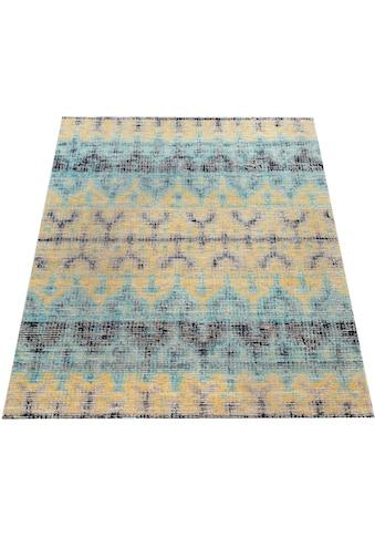Paco Home Teppich »Artigo 417«, rechteckig, 4 mm Höhe, Vintage Design, In- und Outdoor... kaufen