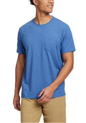 Eddie Bauer T-Shirt, Legend Wash Pro - Kurzarm mit Tasche kaufen