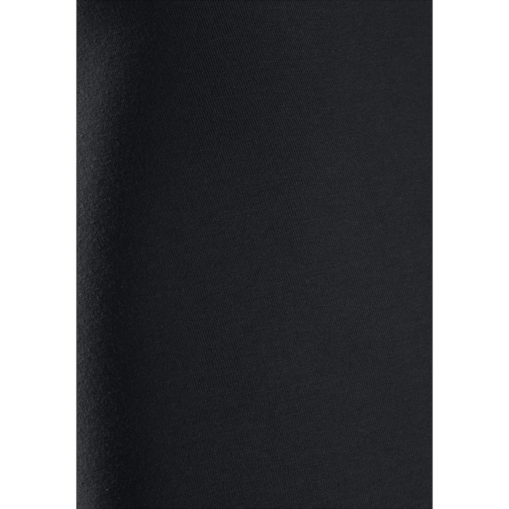 Calvin Klein Langer Boxer, mit Logoschriftzug am weißen Bündchen